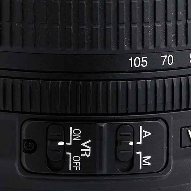 A/M Umschalter Nikon