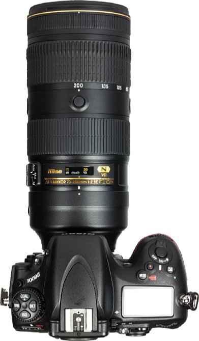 Teleobjektiv Nikon AF-S Nikkor 70-200mm 1:2.8E VL ED VR Zoom