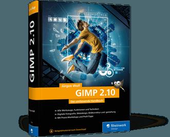 GIMP 2.10 Jürgen Wolf  Buch