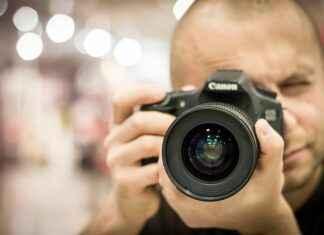 Fotograf Canon Spiegelreflexkamera