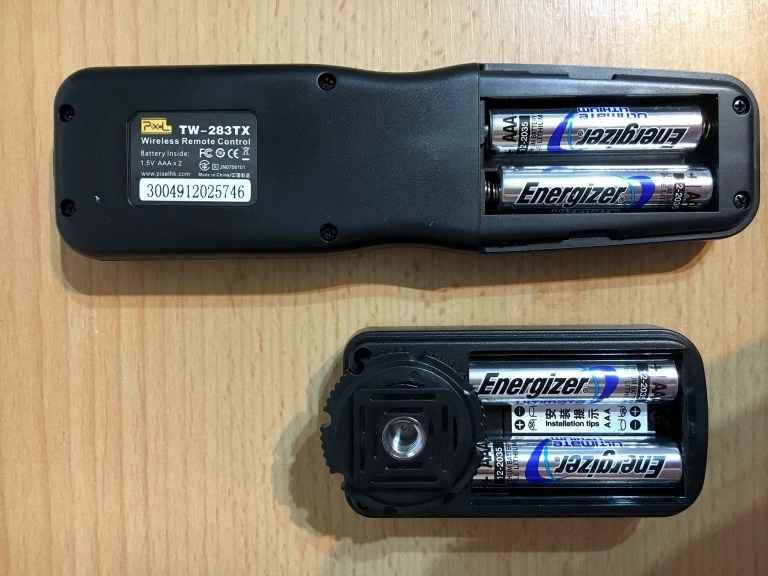 Pixel Pro TW-283 ohne Batterien