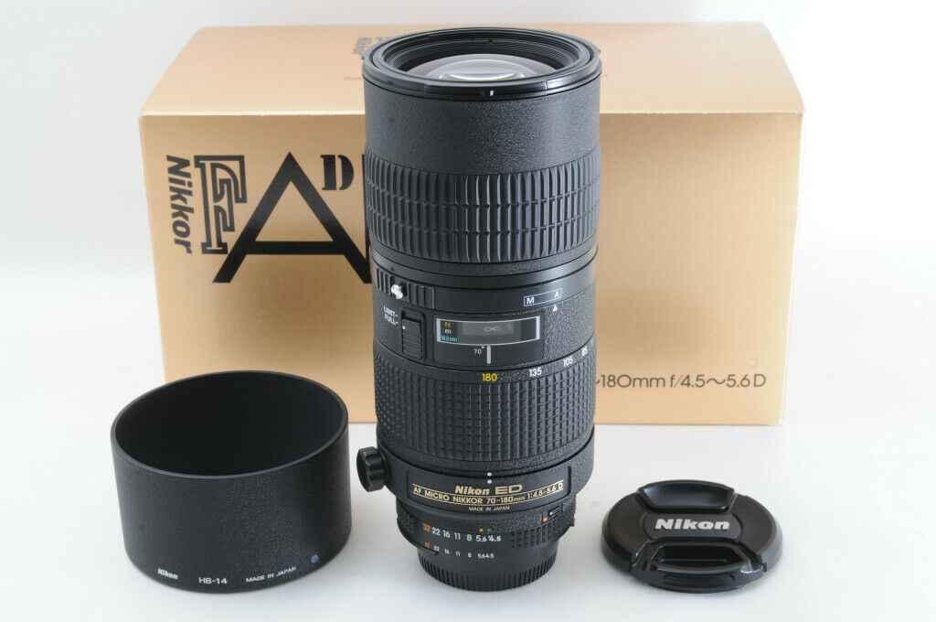 Nikon AF Zoom-Micro Nikkor ED 70-180mm F4.5-5.6D
