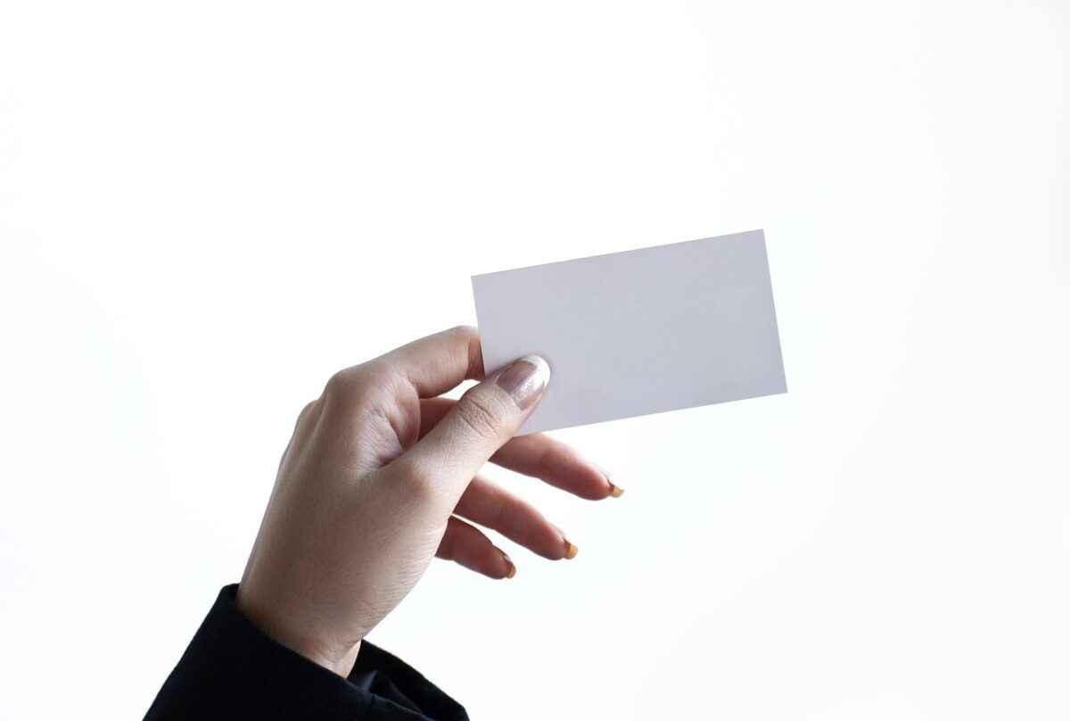 Visitenkarten im Business Fotografie und Fotograf die Fotografen
