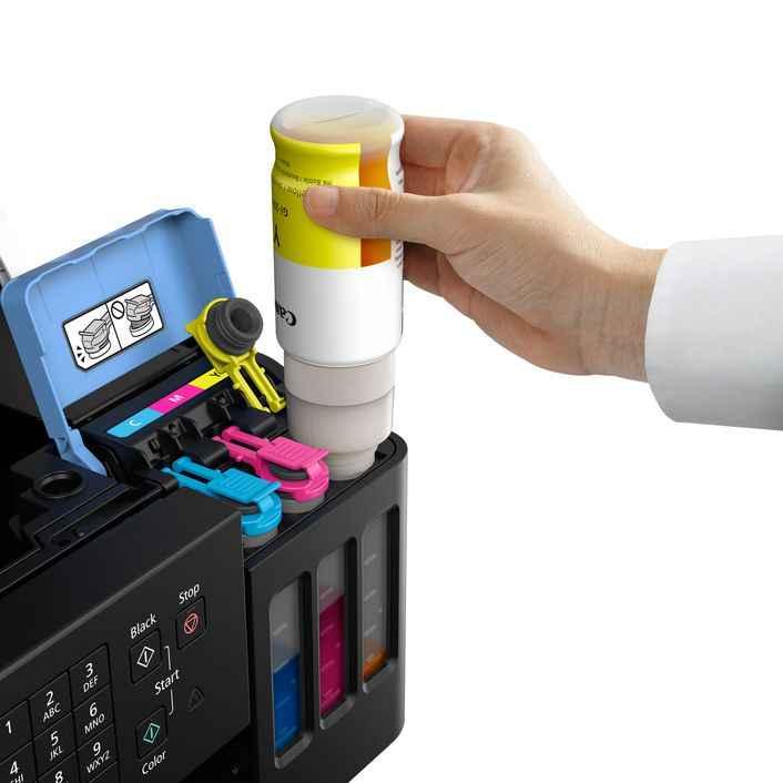 Canon Megatank Tinte zum Nachfüllen günstiger Preis Test