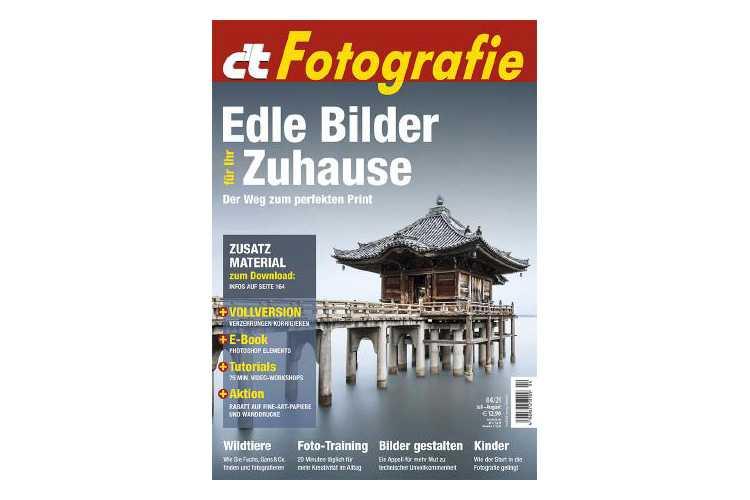 c't Fotografie 4/21: Fine Art Druck von Zuhause