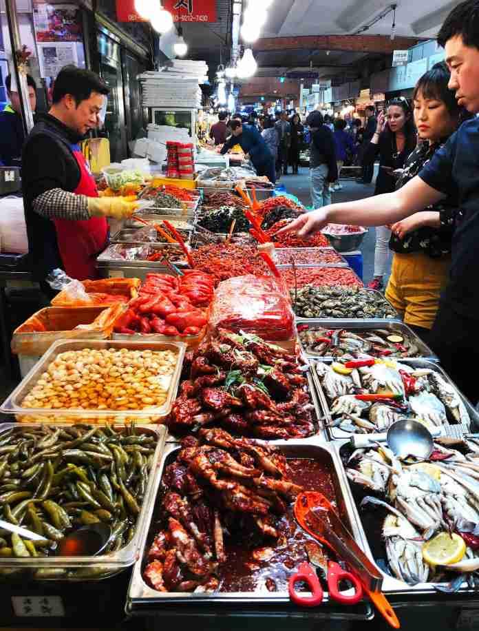Fotografieren Markt