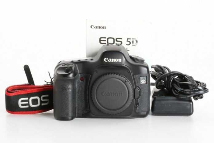 Gebrauchte Canon Kameraa