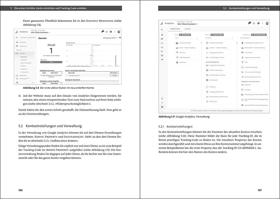 Google Analytics Buch Leseprobe