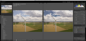 Polfilter in Lightroom simulieren