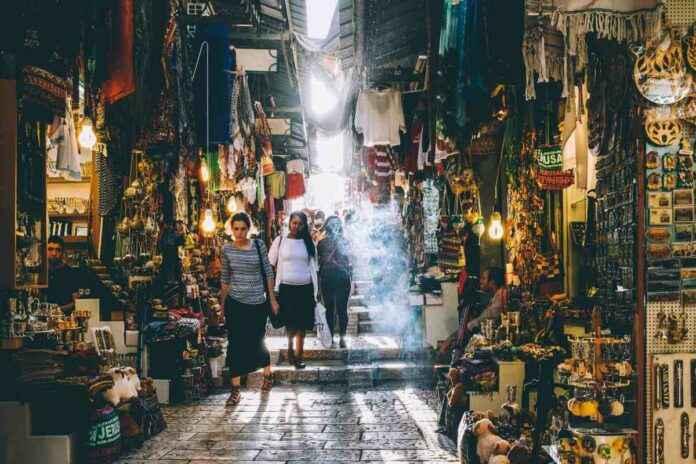 Markt fotografieren