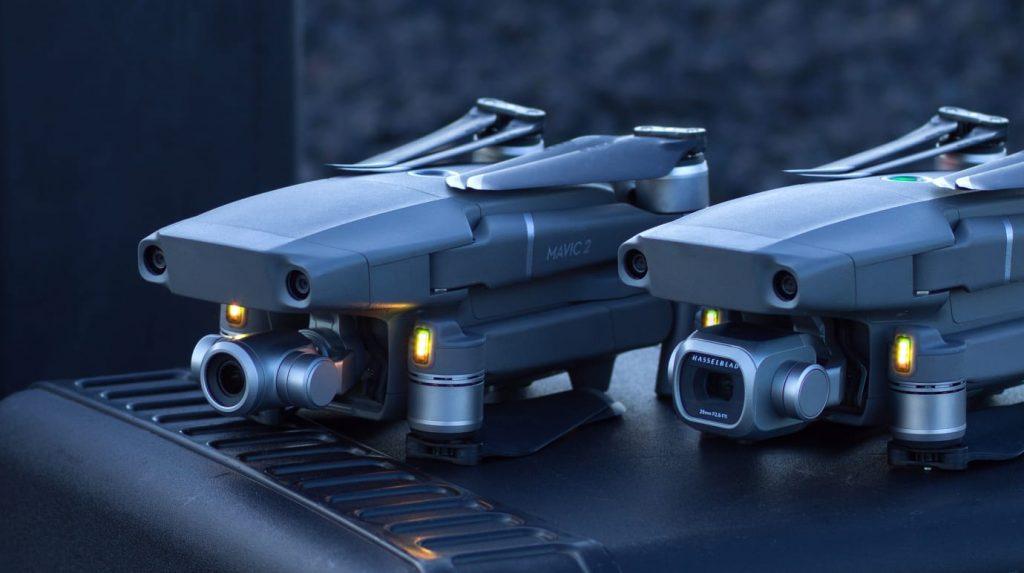 DJI Mavic 2 Pro und Mavic 2 Zoom Drohne Multicopter Vergleich