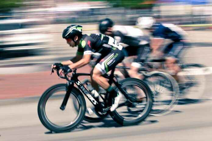 Mitzieher Radrennen