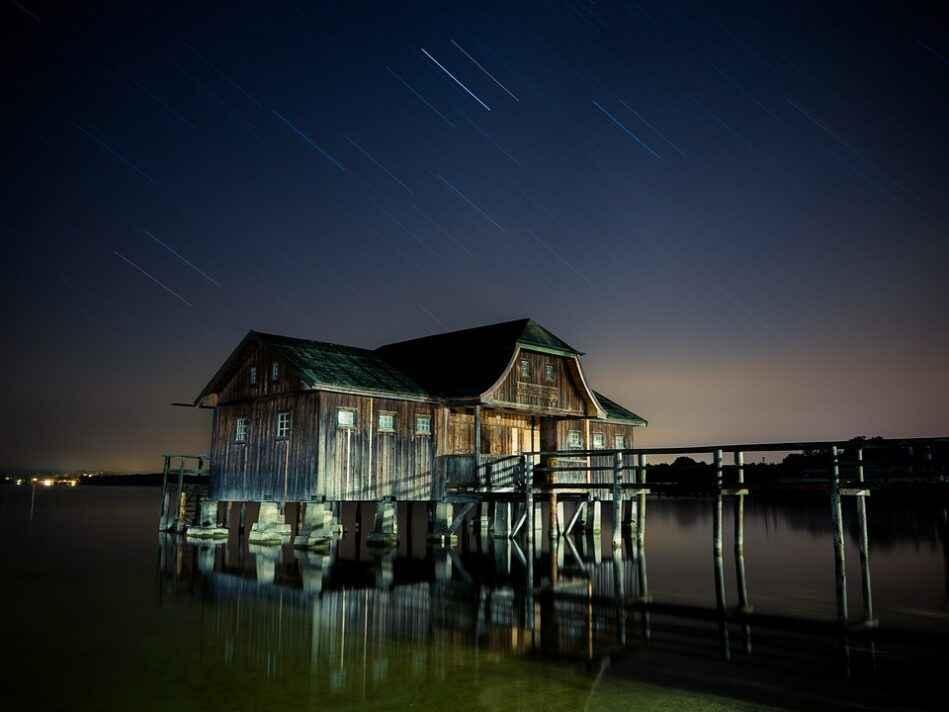 Sternenhimmel Nachtaufnahme