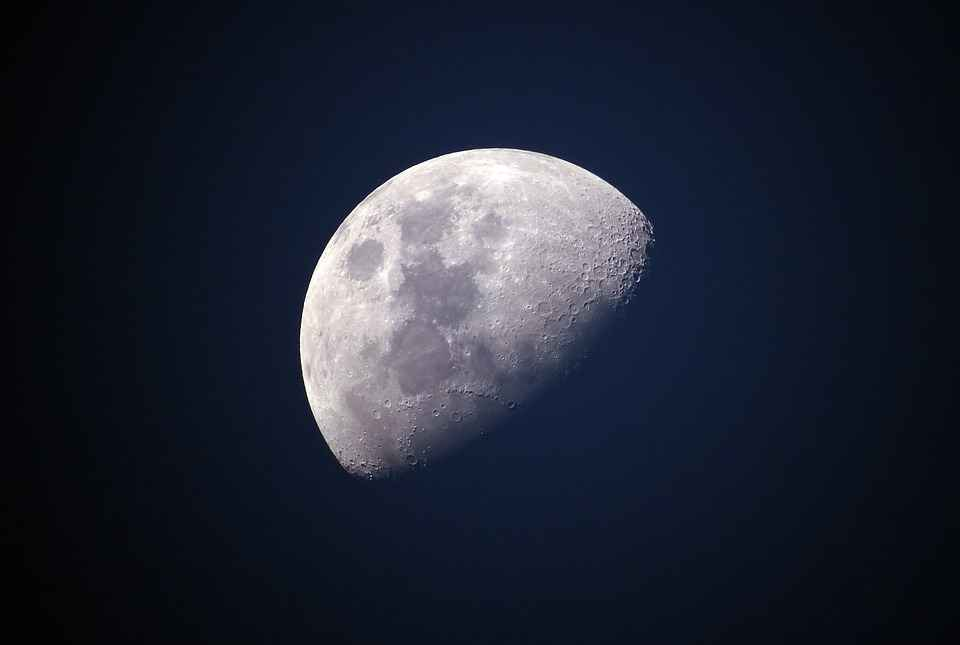 Mond nachts