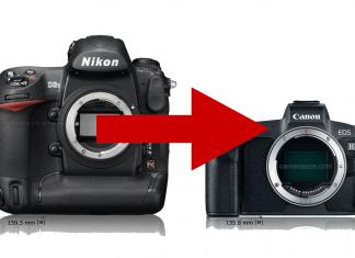 Systemwechsel Kamerasystem