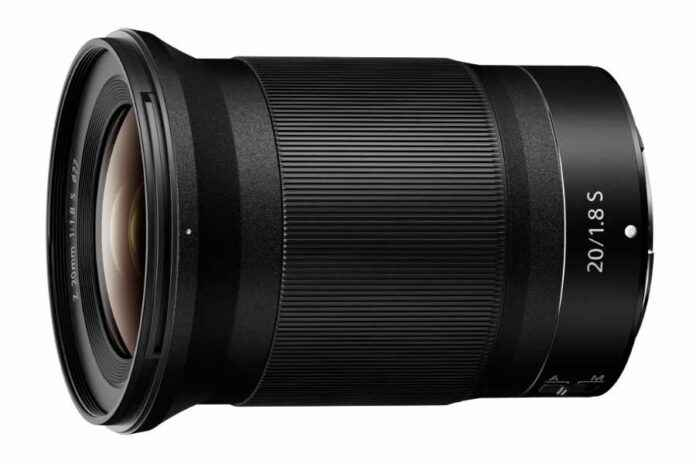 Nikon Nikkor Z 20mm 1.8 S