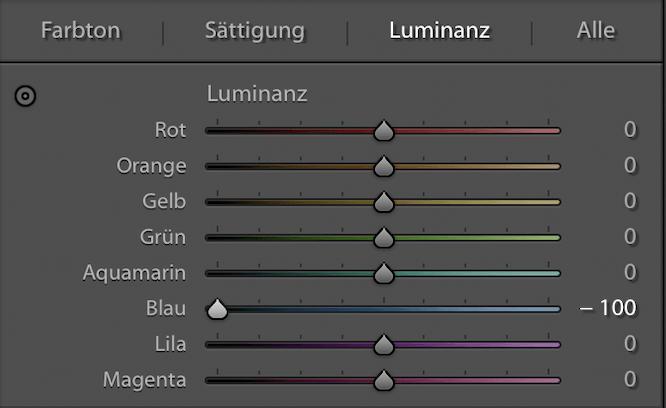 Lightroom Polfilter Simulation