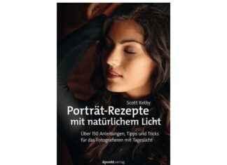 Porträt Rezepte mit natürlichem Licht
