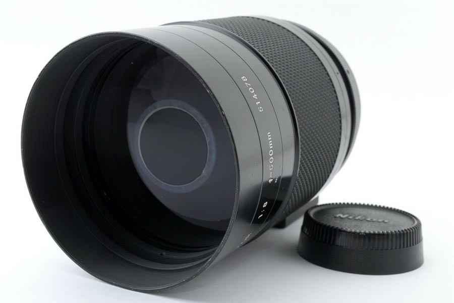 Spiegelteleobjektiv Reflex Nikkor 500mm f/8 Spiegelobjektiv