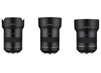 Samyang XP 35mm, 50mm und 85mm f1.2