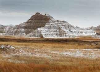 Bildbewertung Berg mit Schnee Steppe