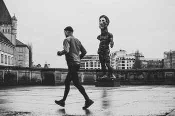 Jogger Streetfotografie