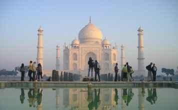 Indien Taj Mahal Goldenes Dreieck Varanasi