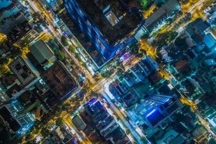Texturen Stadt Drohne